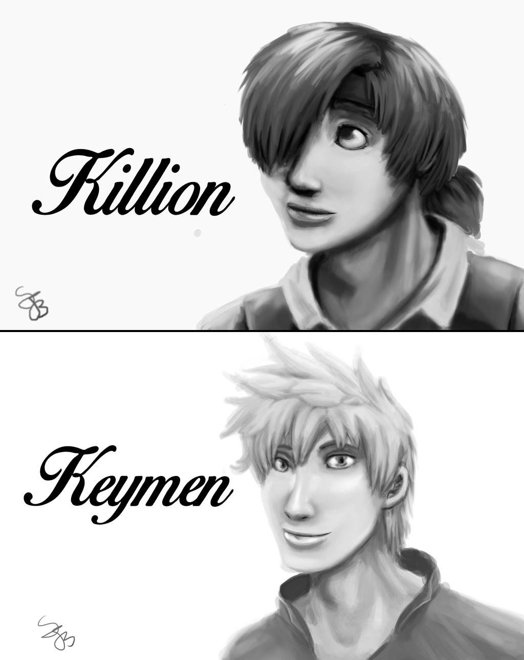 Kilion and Keymen by Dreamfollower
